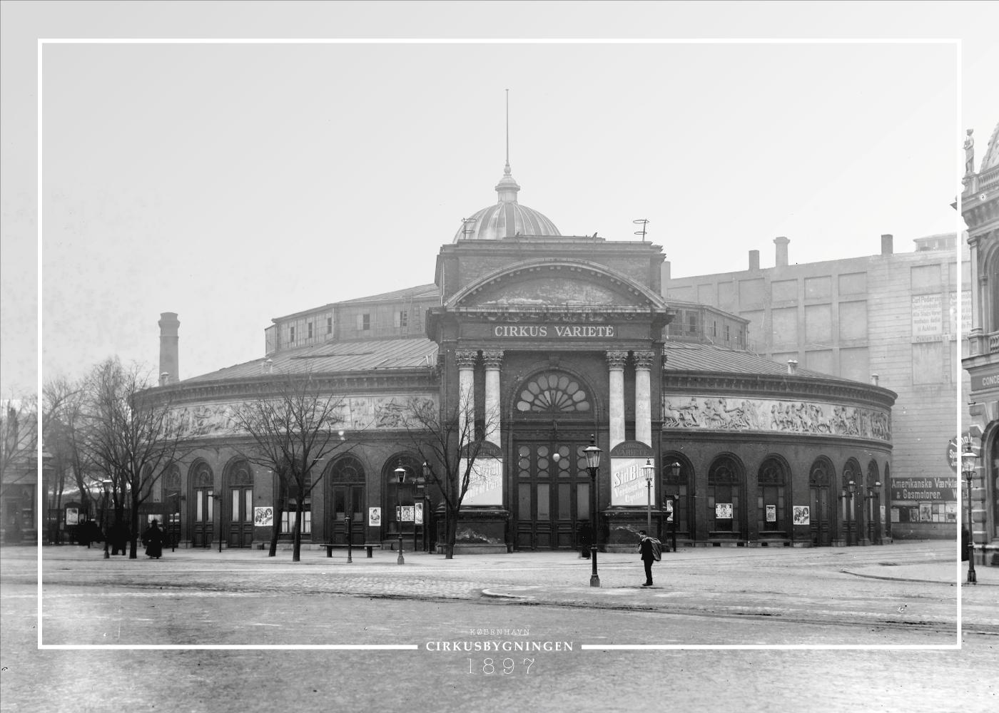 Billede af Cirkusbygningen - Gamle billeder af København plakat