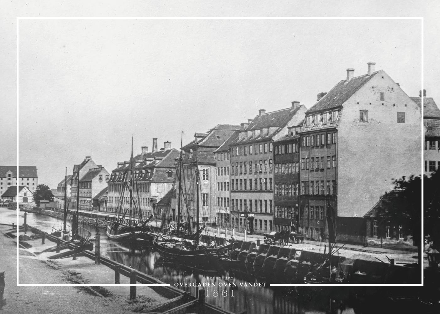 Billede af Christianshavn - Gamle billeder af København plakat