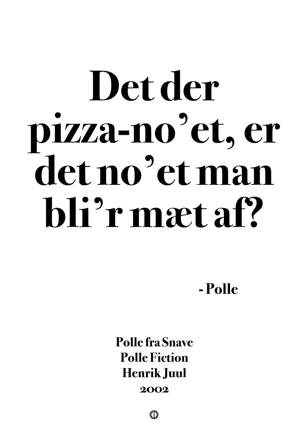 Billede af Det der pizza no'et