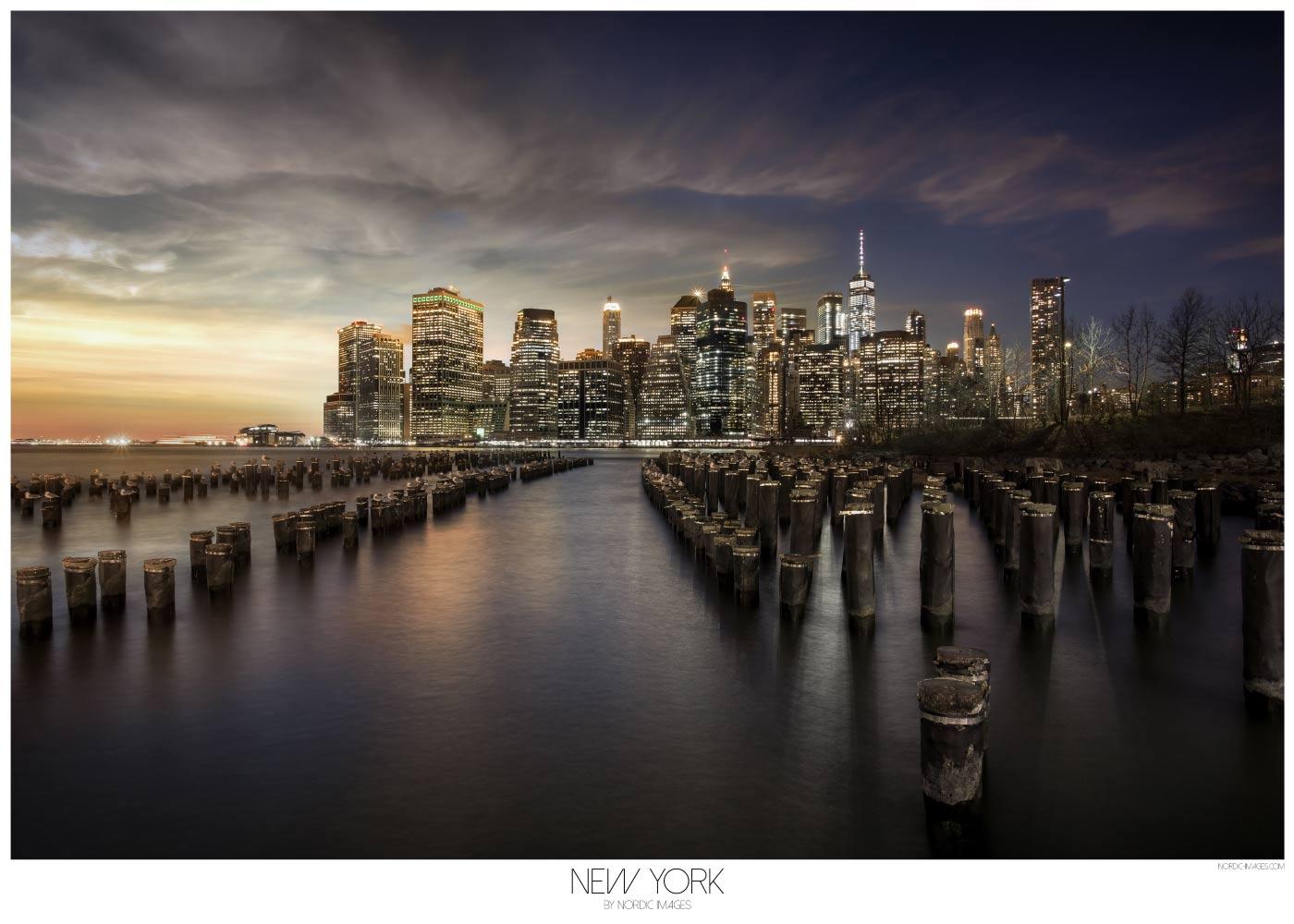 Billede af New York II - Brian Lichtenstein plakat