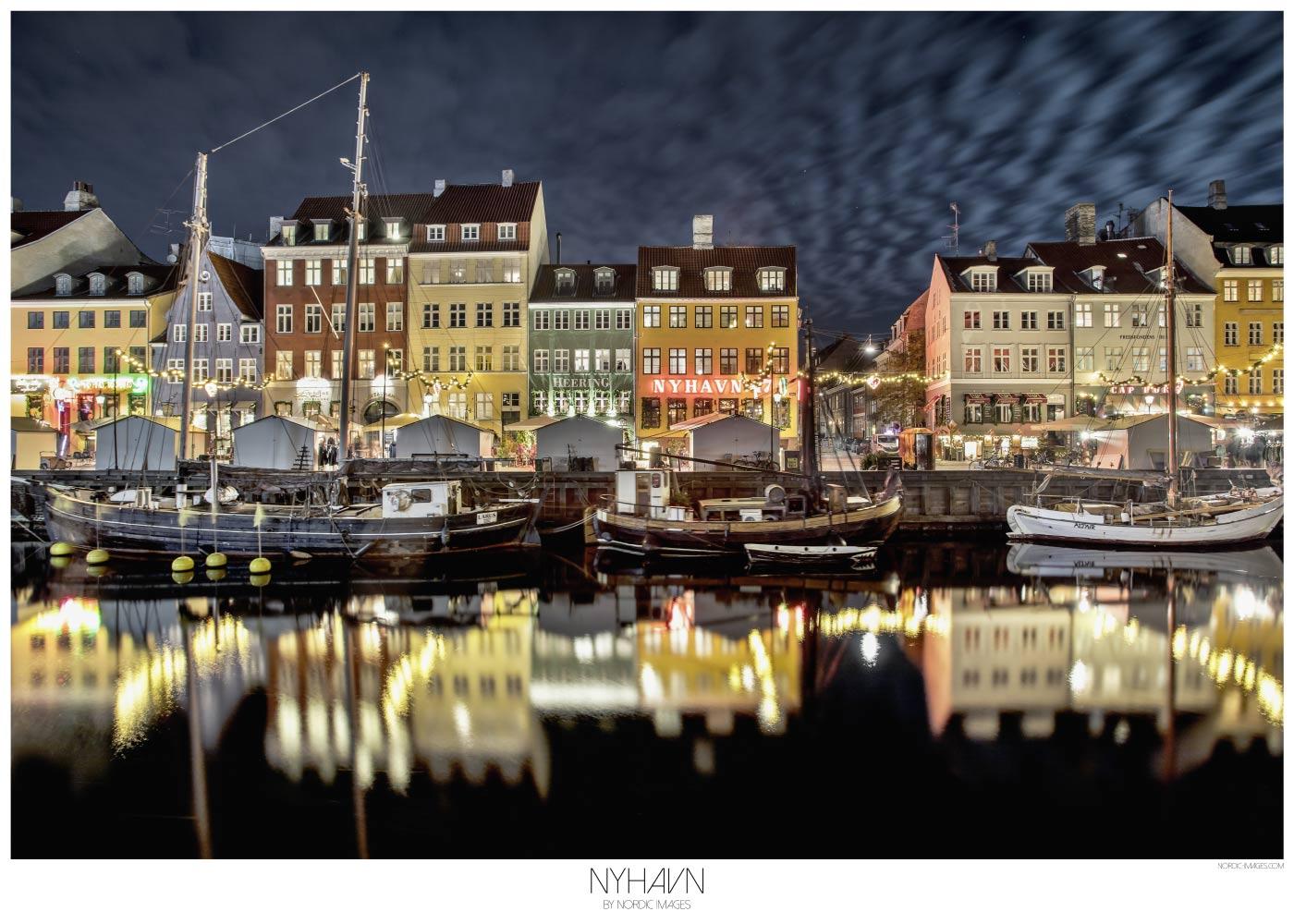 Nyhavn - Brian Lichtenstein plakat