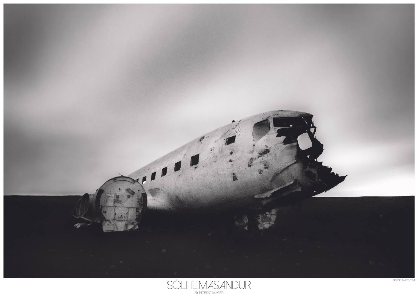 Sólheimasandur - Brian Lichtenstein plakat