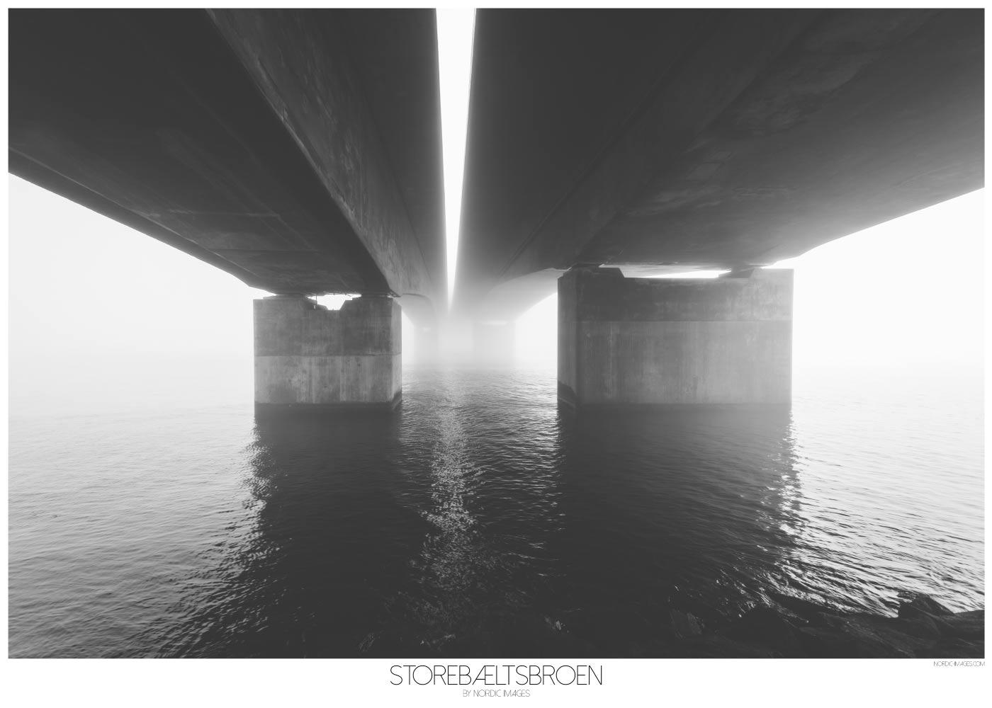 Storbæltsbroen - Brian Lichtenstein plakat
