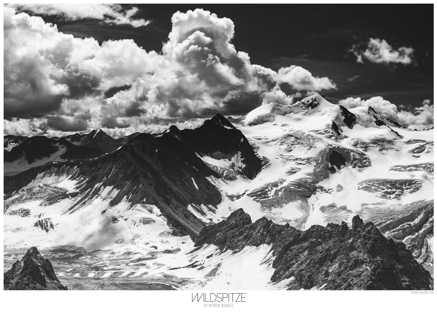 Wildspitze - Brian Lichtenstein plakat