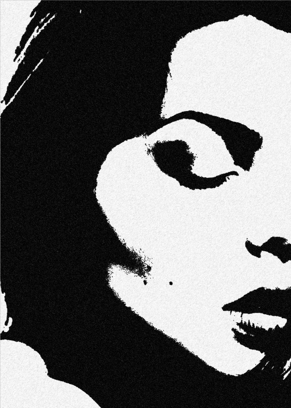 Billede af Black and white woman - plakat