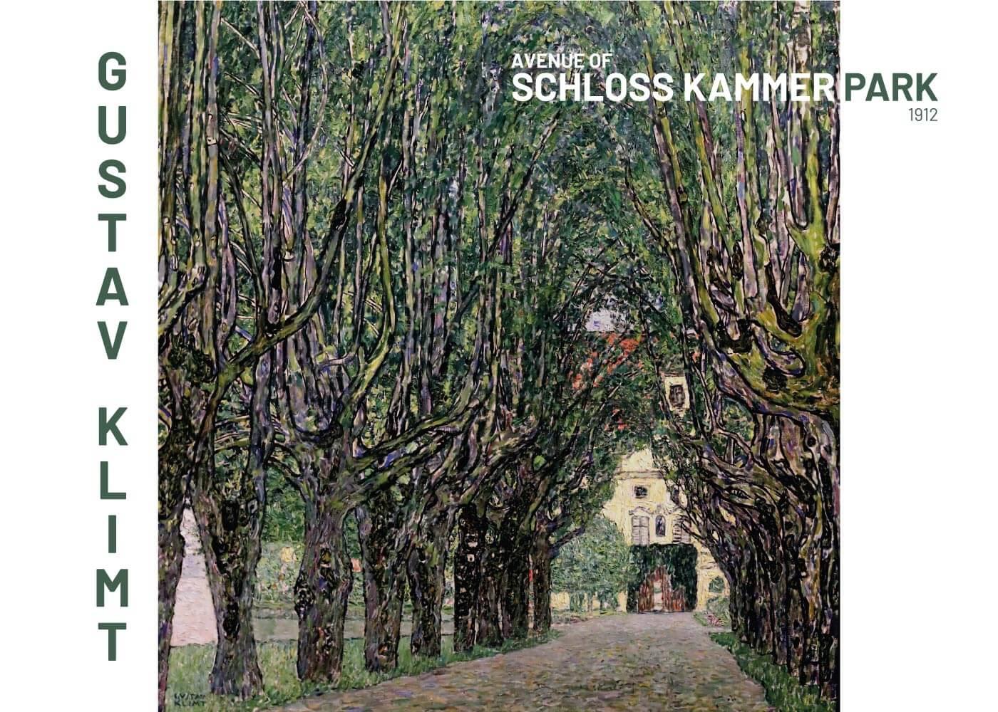 Billede af Schloss kammer park - Gustav Klimt