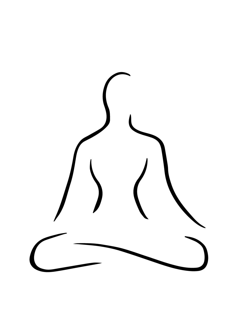Yoga exercises plakat