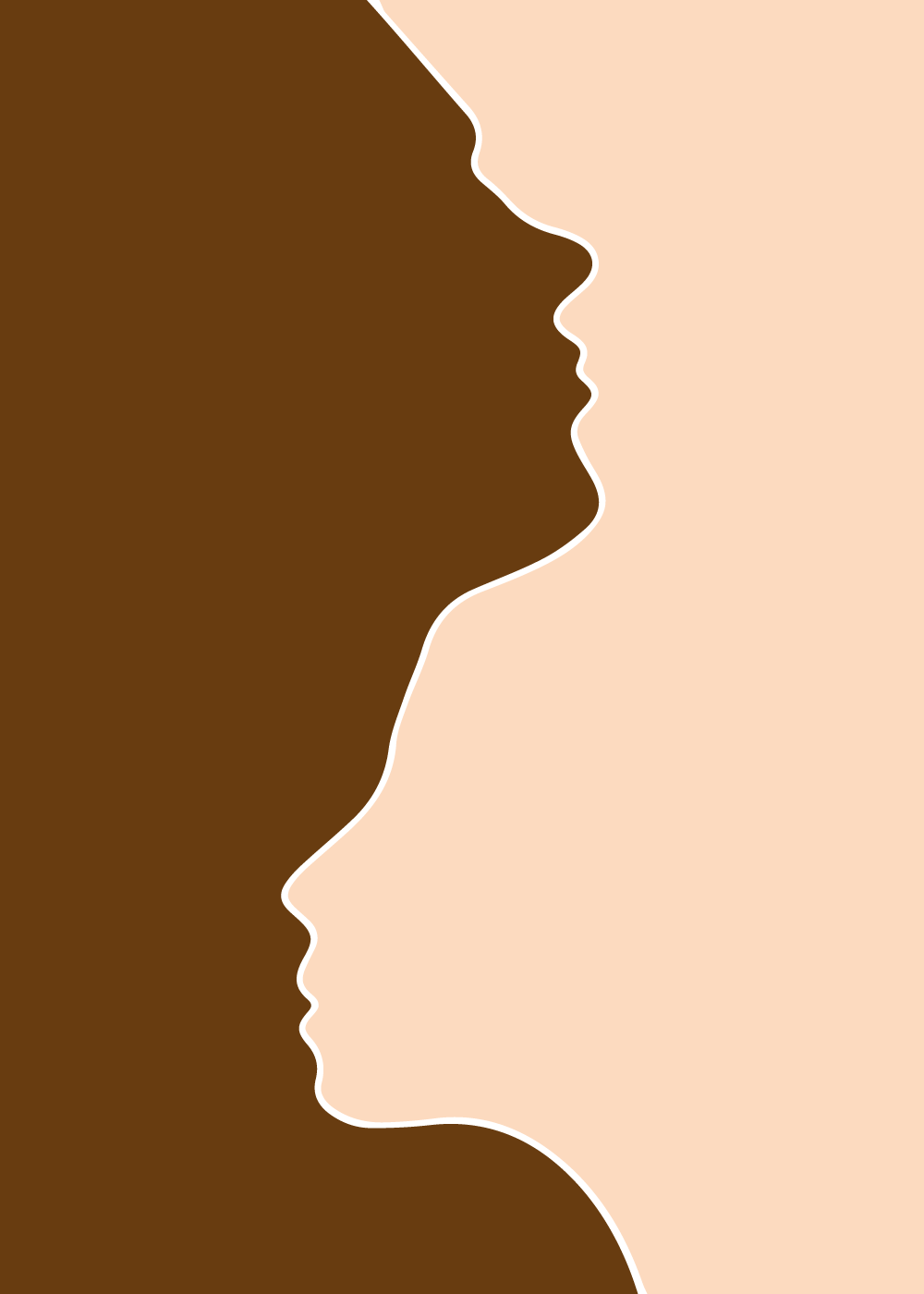 We are all the same - plakat