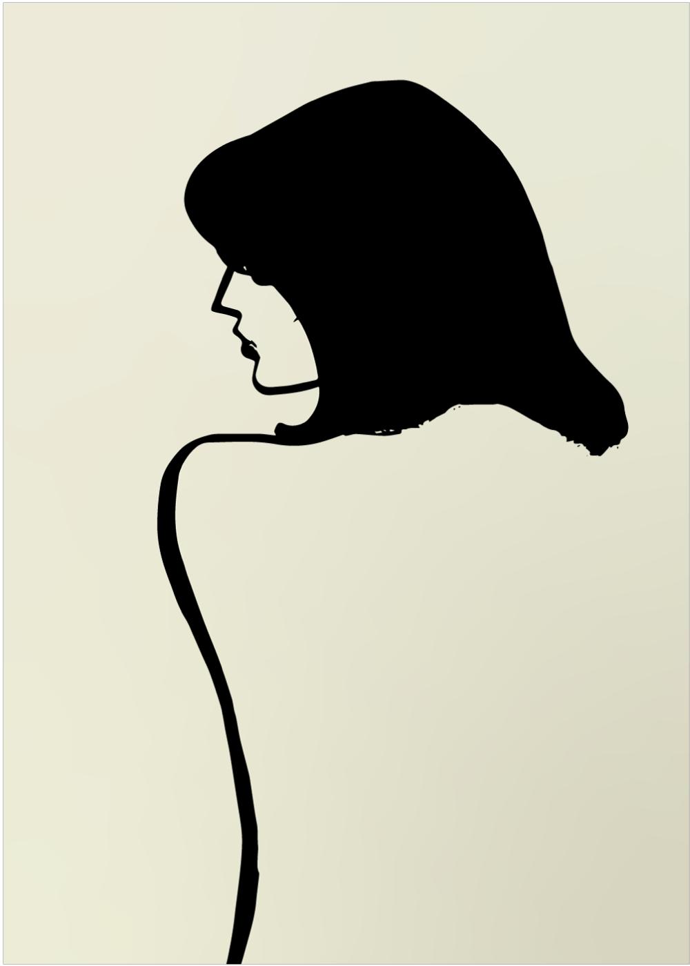 Billede af Soft woman plakat