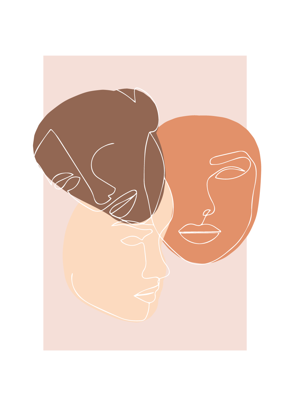 Billede af Human skin color - plakat