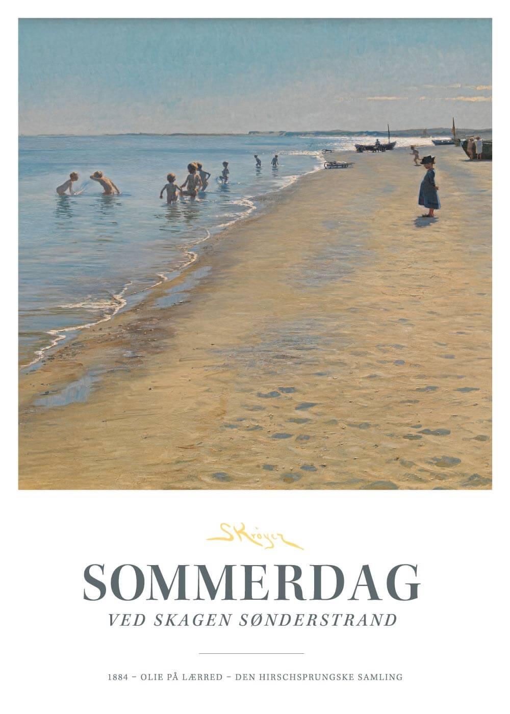 Sommerdag - P.S. Krøyer plakat