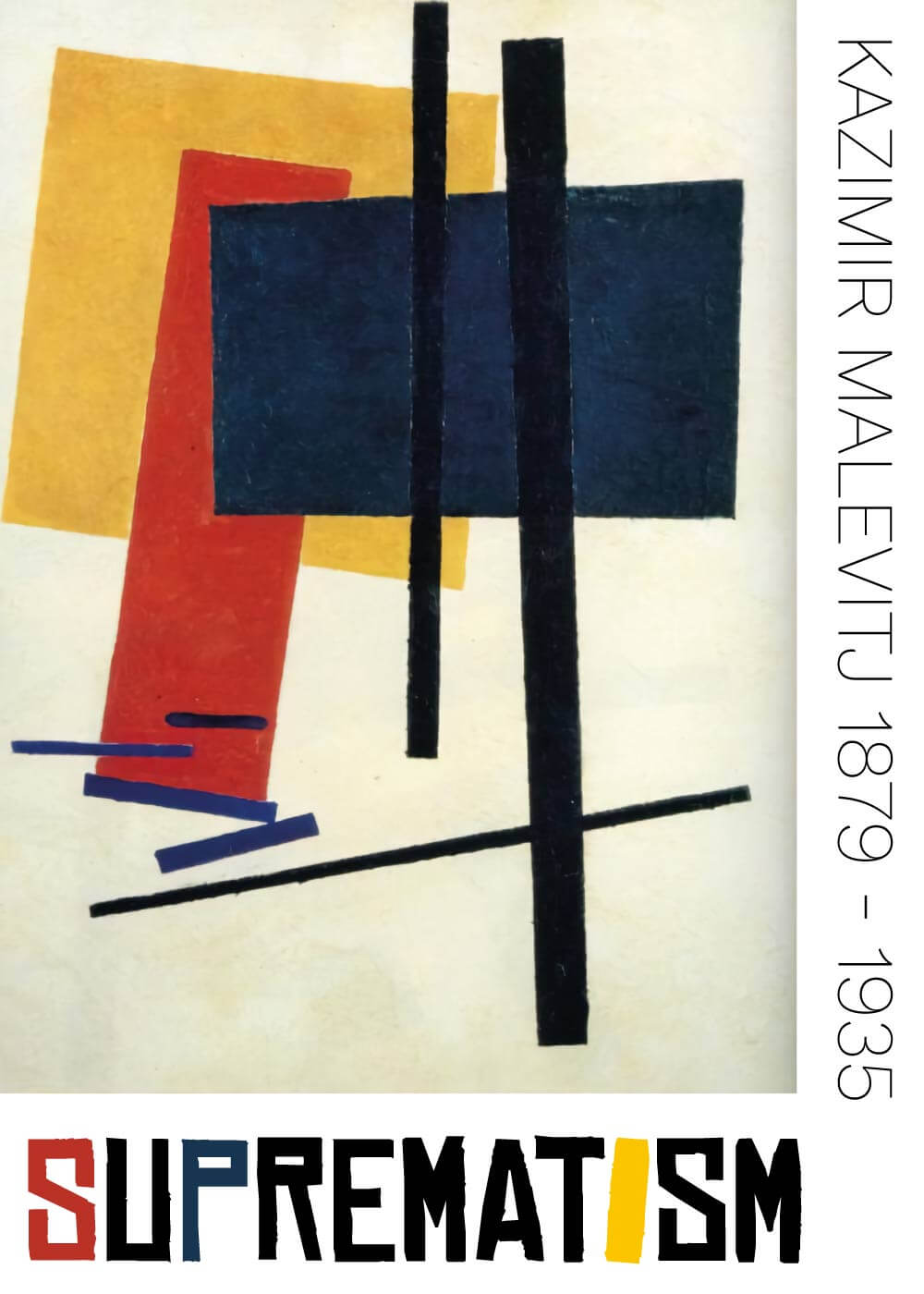 Suprematism composition lll - Kazimir Malevitj