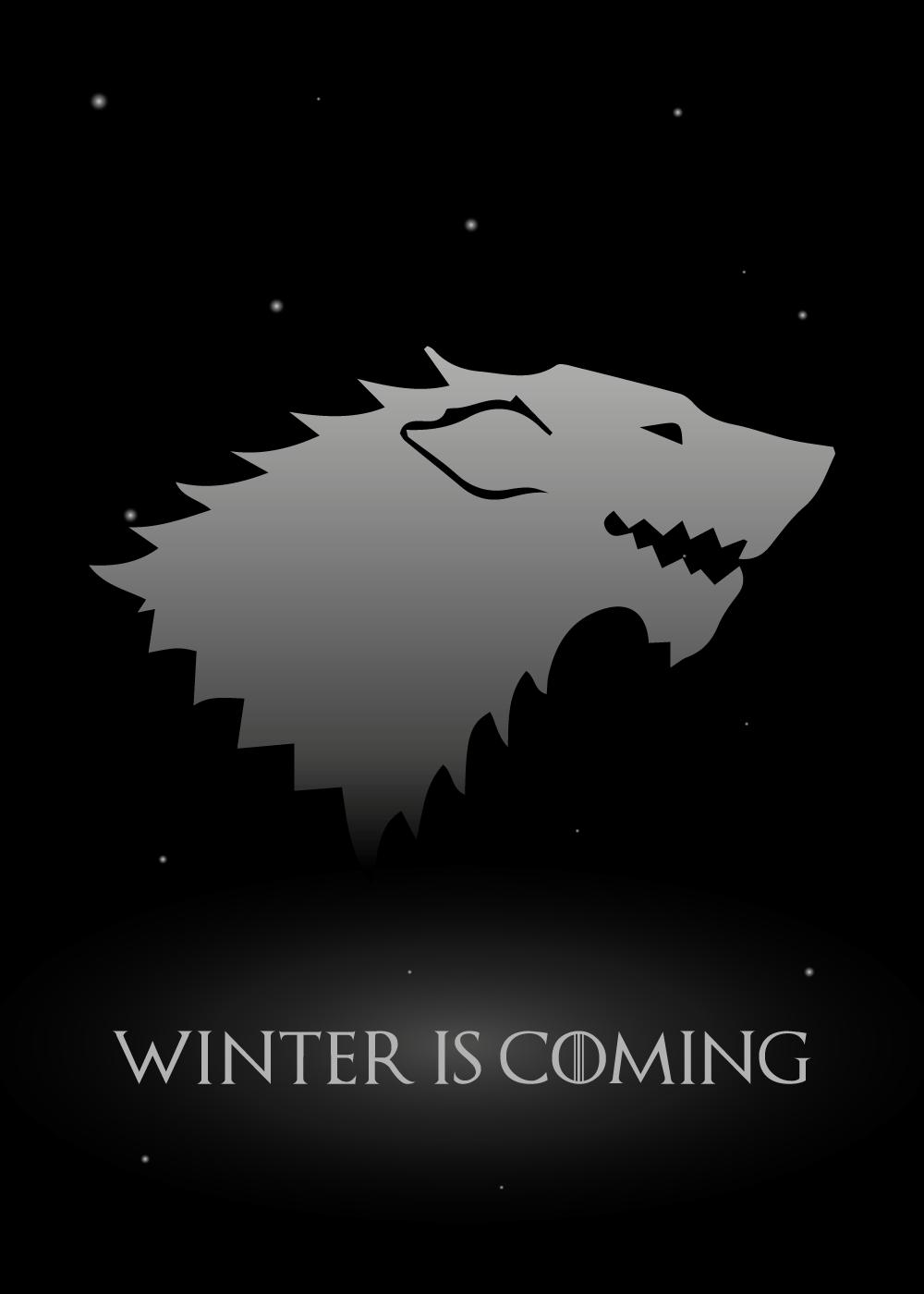 Billede af GOT plakat - Winter is coming