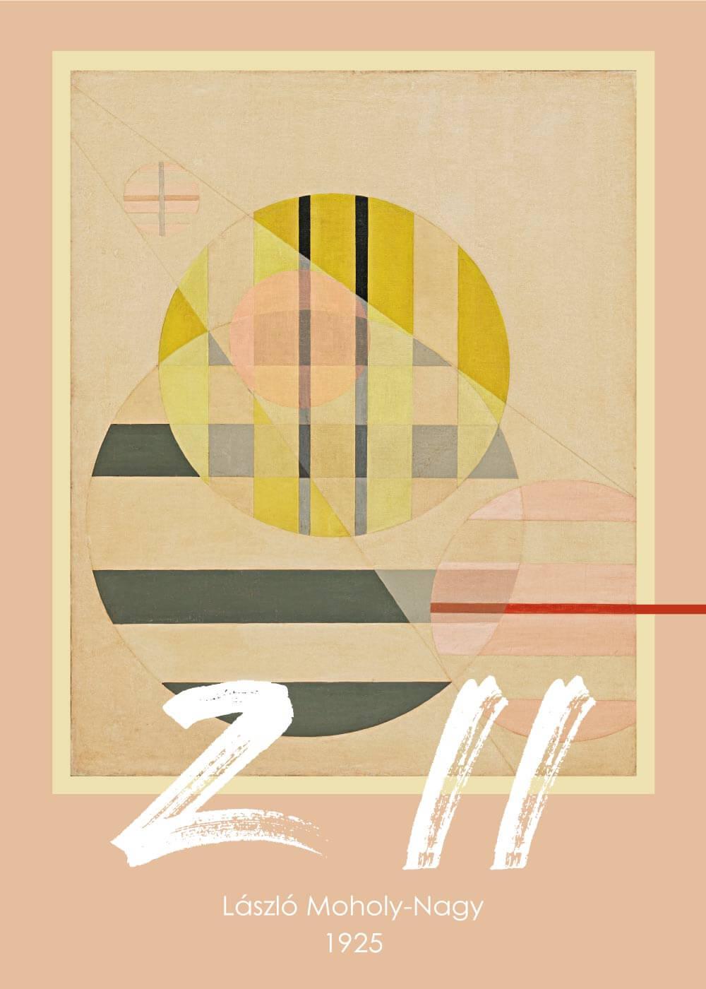 Billede af Z II - László Moholy-Nagy kunstplakat