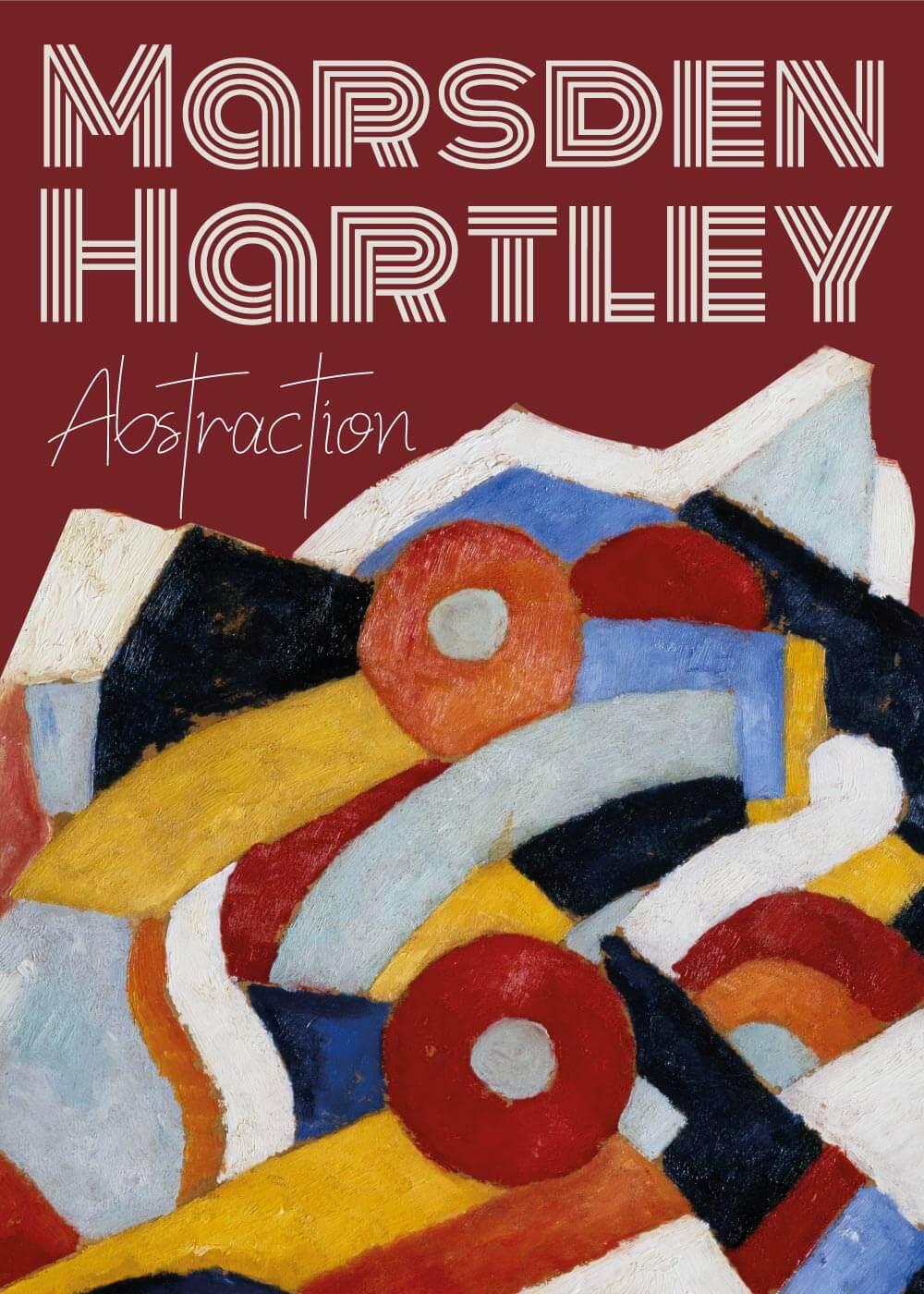 Billede af Abstraction - Marsden Hartley