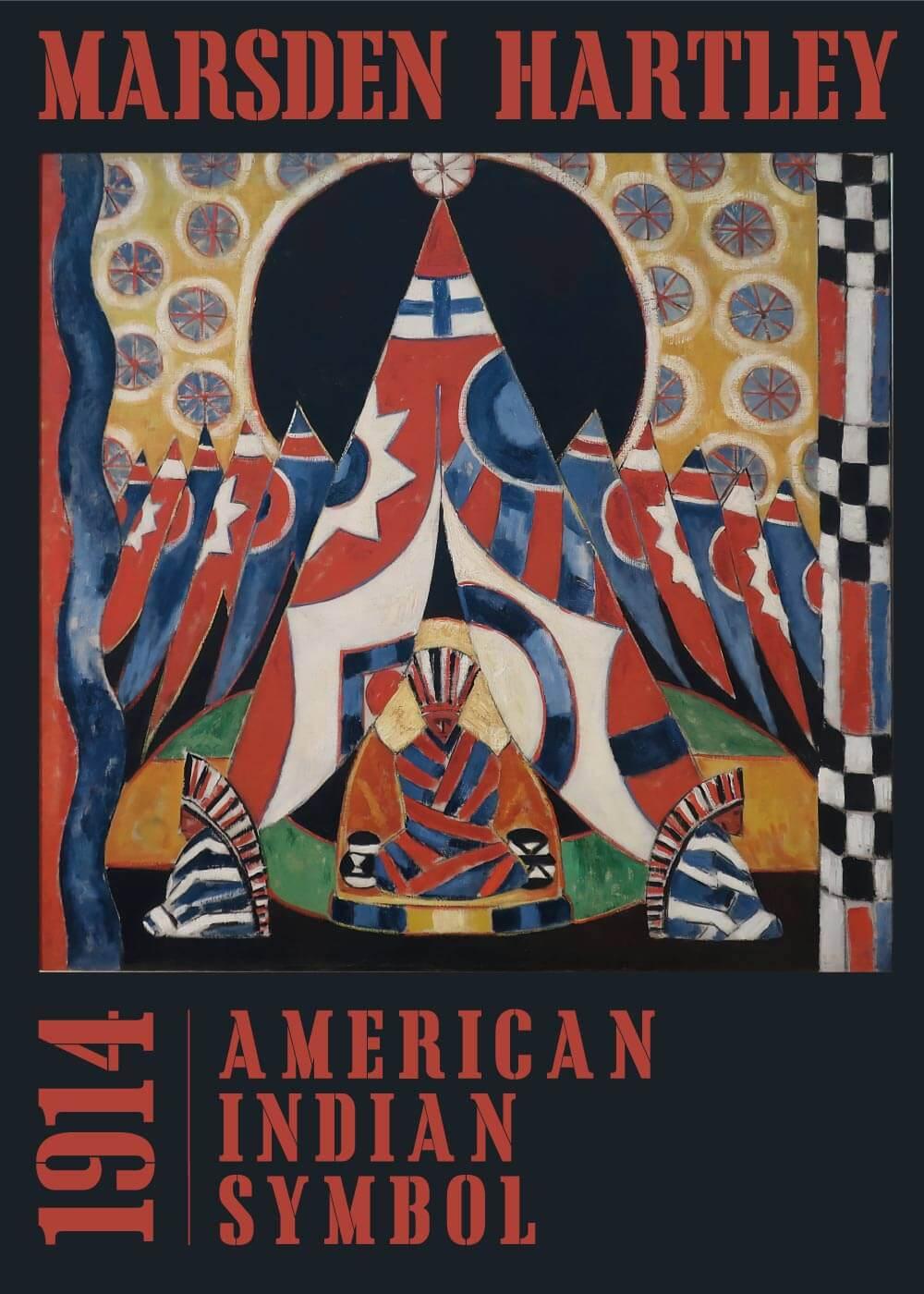 Billede af American indian symbol - Marsden Hartley