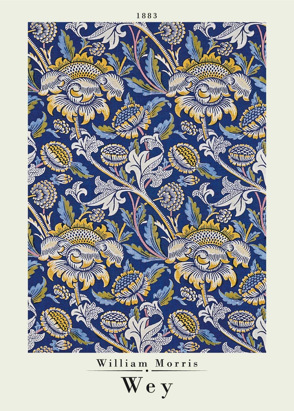 Billede af Wey - William Morris kunstplakat