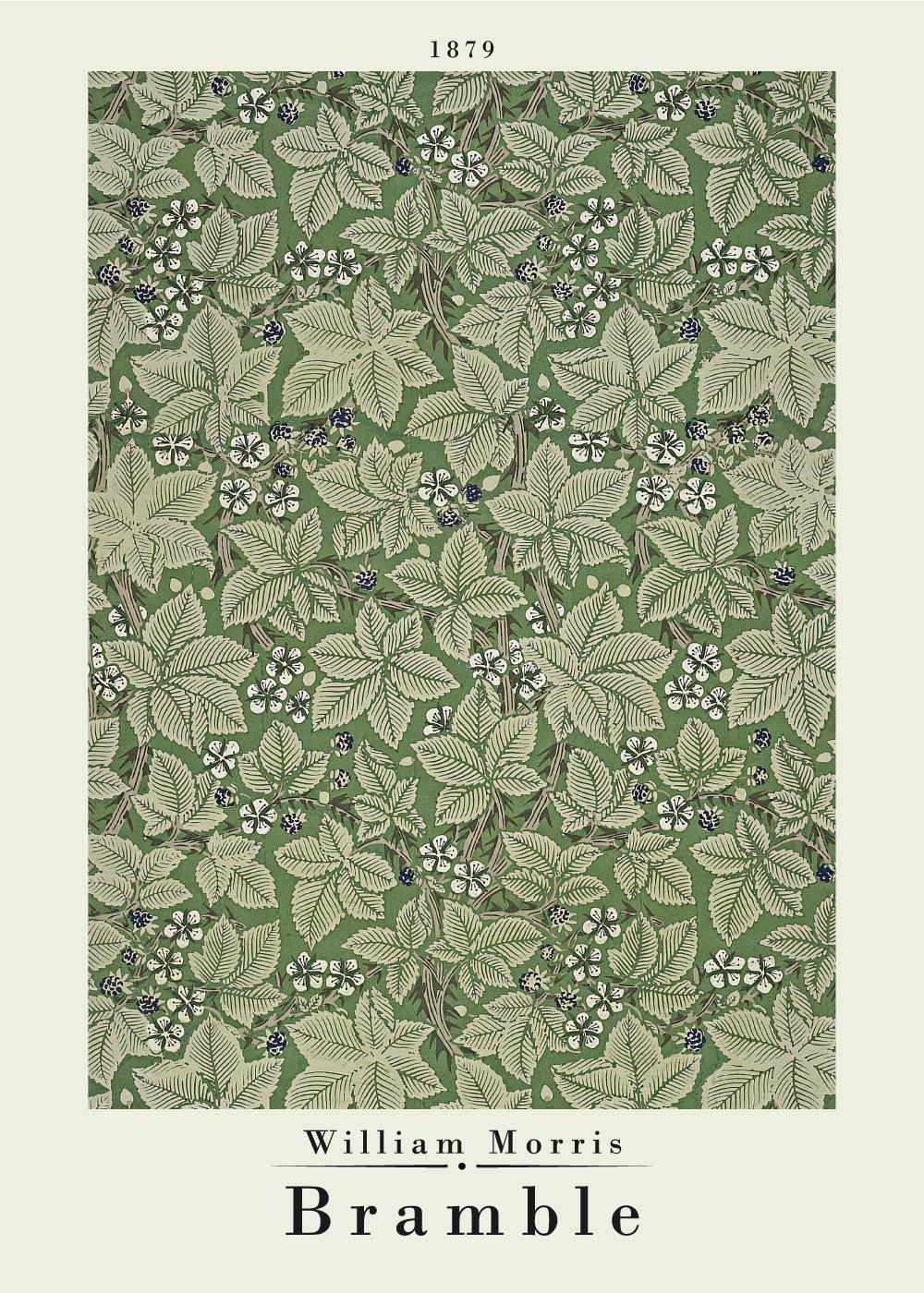 Billede af Bramble - William Morris kunstplakat