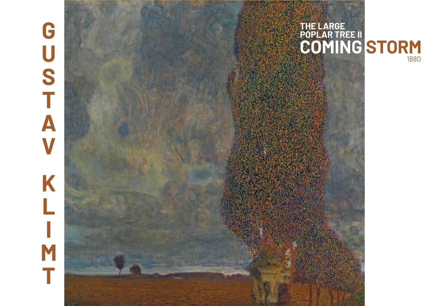 Billede af Coming storm - Gustav Klimt