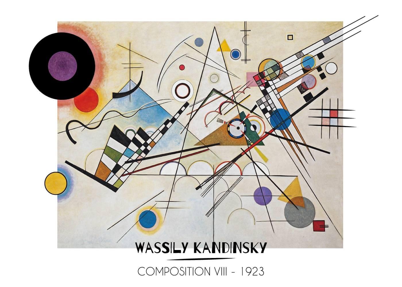 Billede af Composition Vlll - Wassily Kandinsky