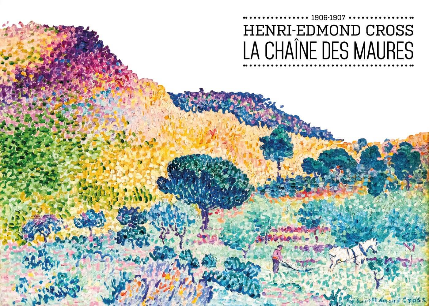 Billede af La ChaÎne des maures - Henri-Edmond Cross