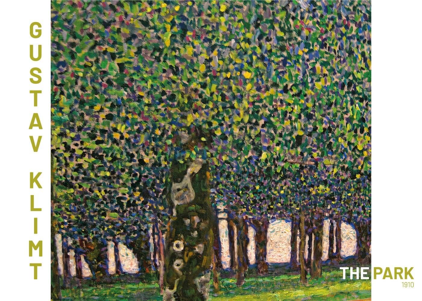 Billede af The park - Gustav Klimt
