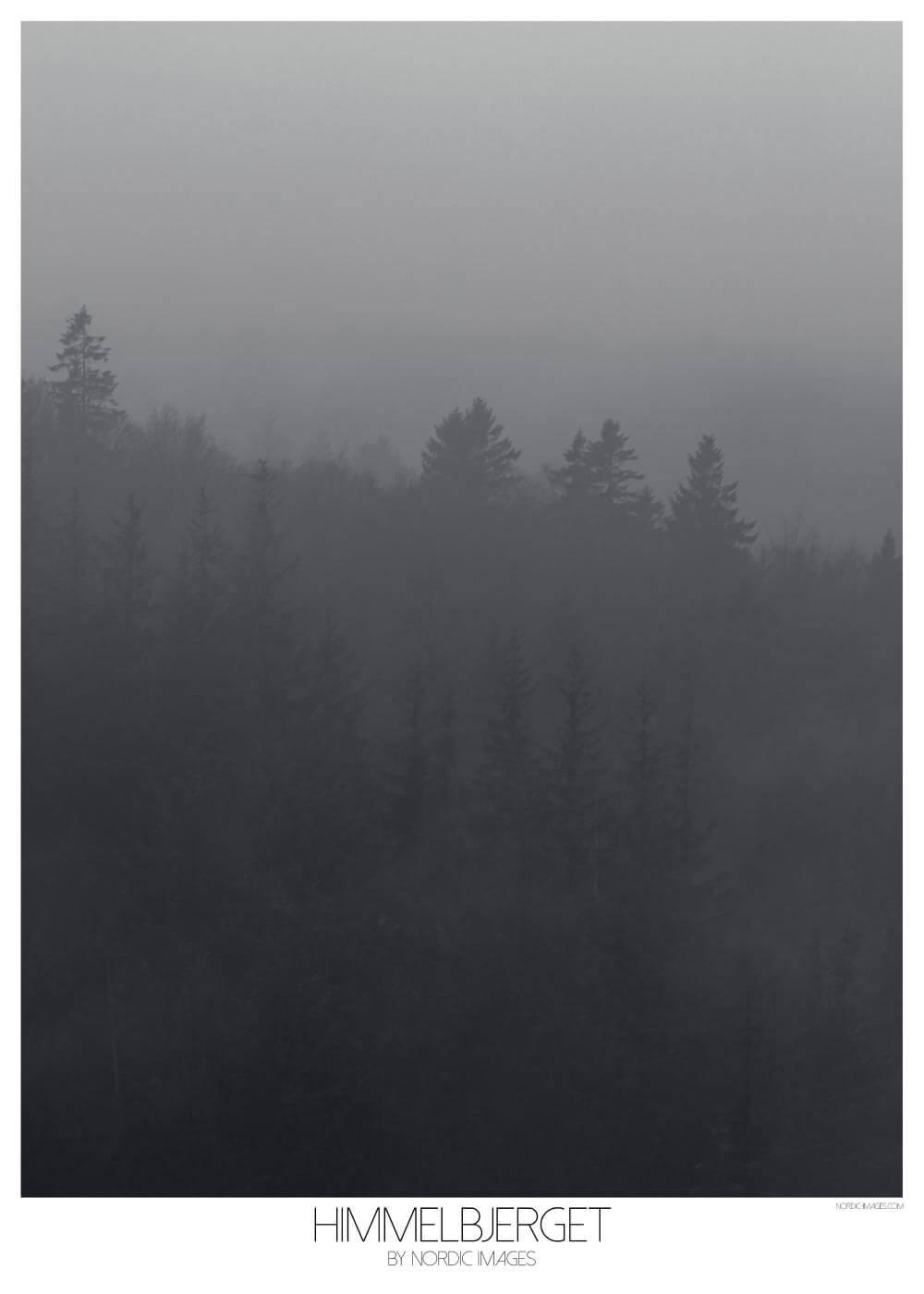 Billede af Himmelbjerget - Brian Lichtenstein plakat