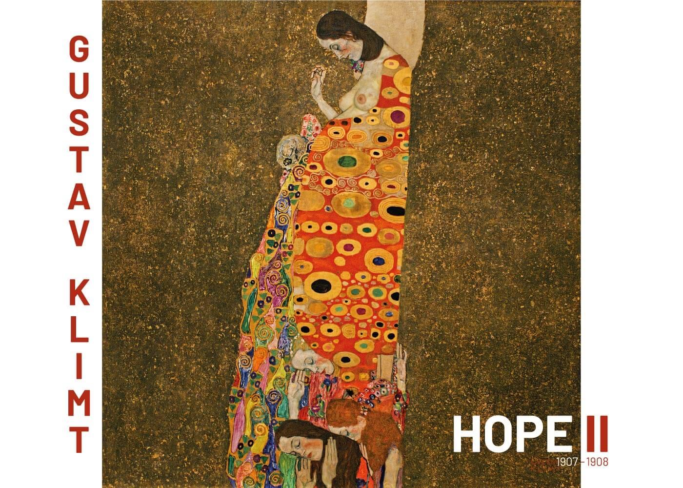 Billede af Hope ll - Gustav Klimt