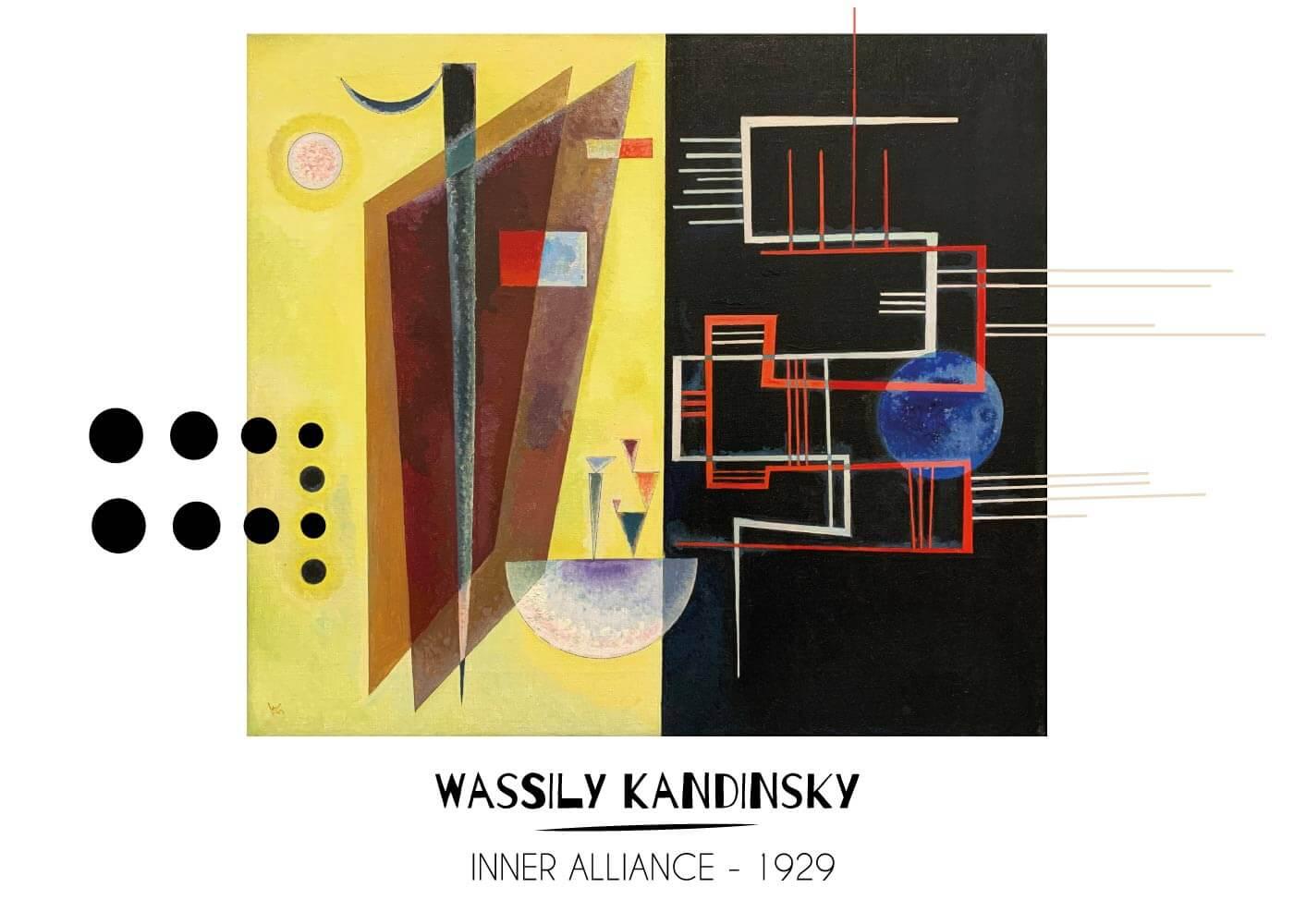 Billede af Inner alliance - Wassily Kandinsky