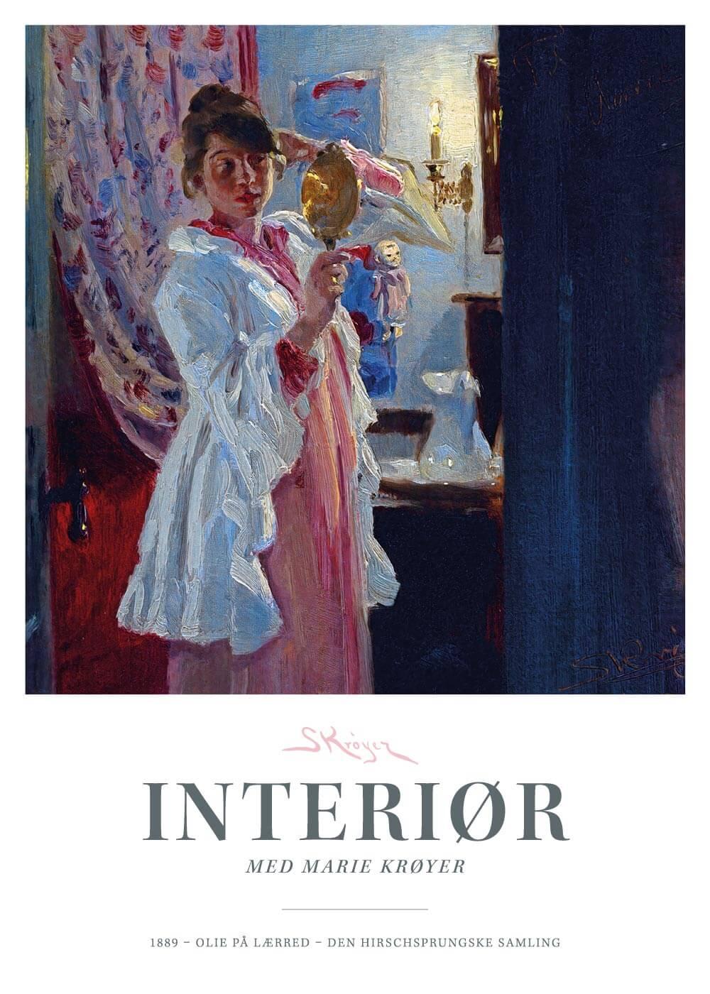 Interiør - P.S. Krøyer plakat