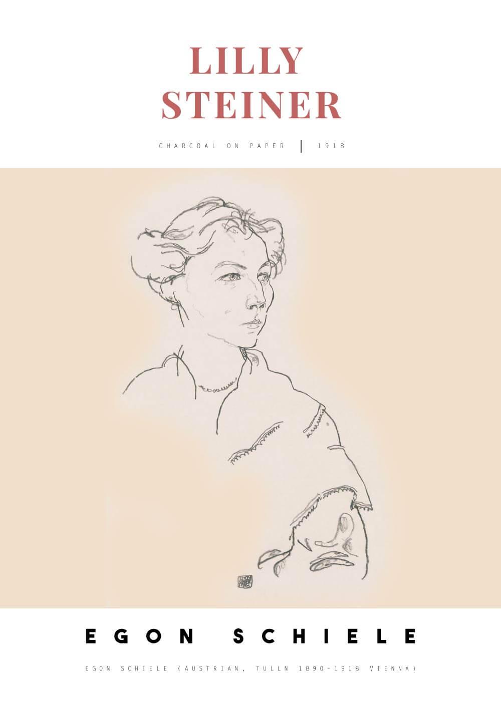 Lilly Steiner - Egon Schiele