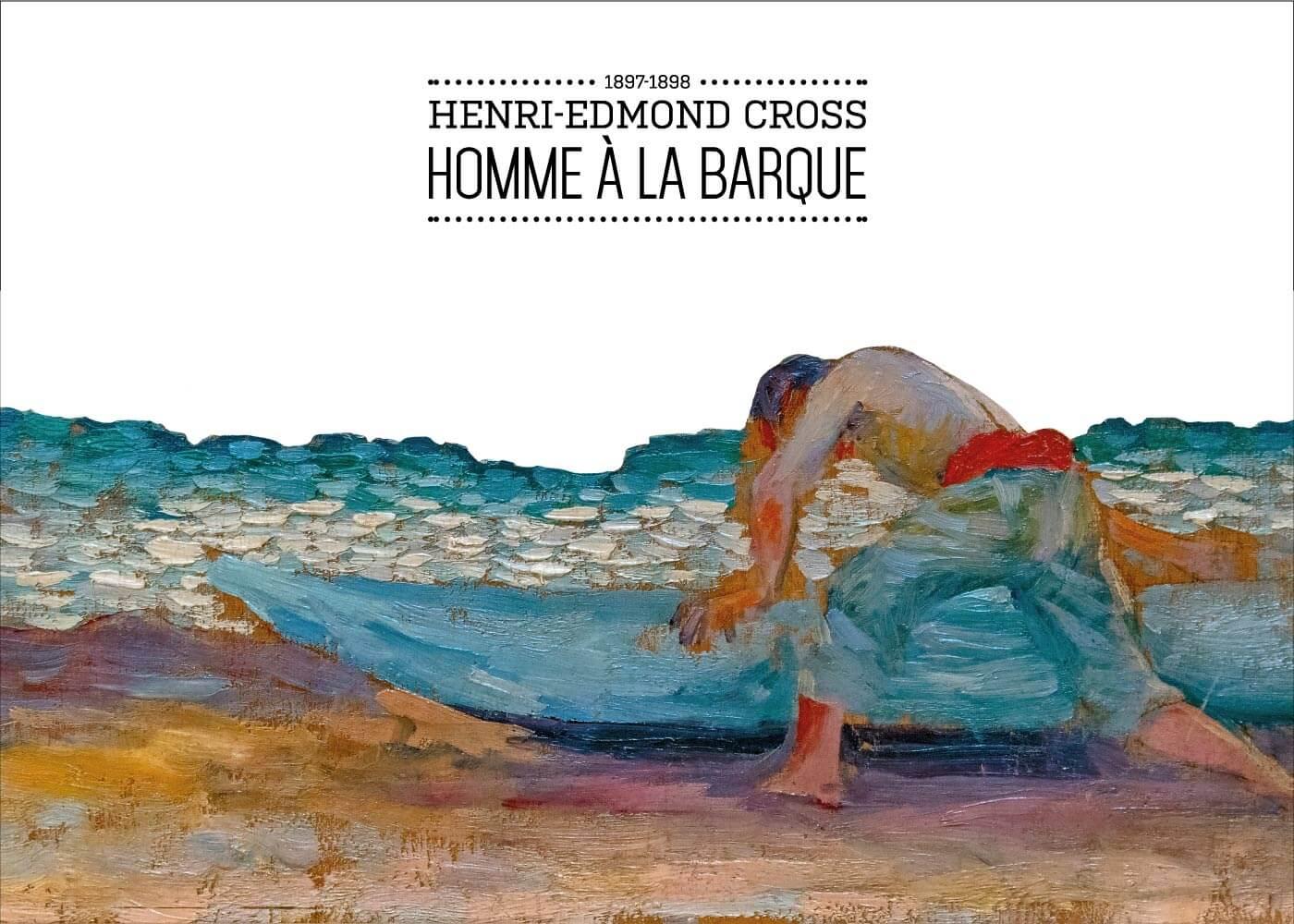Billede af Homme á la barque - Henri-Edmond Cross