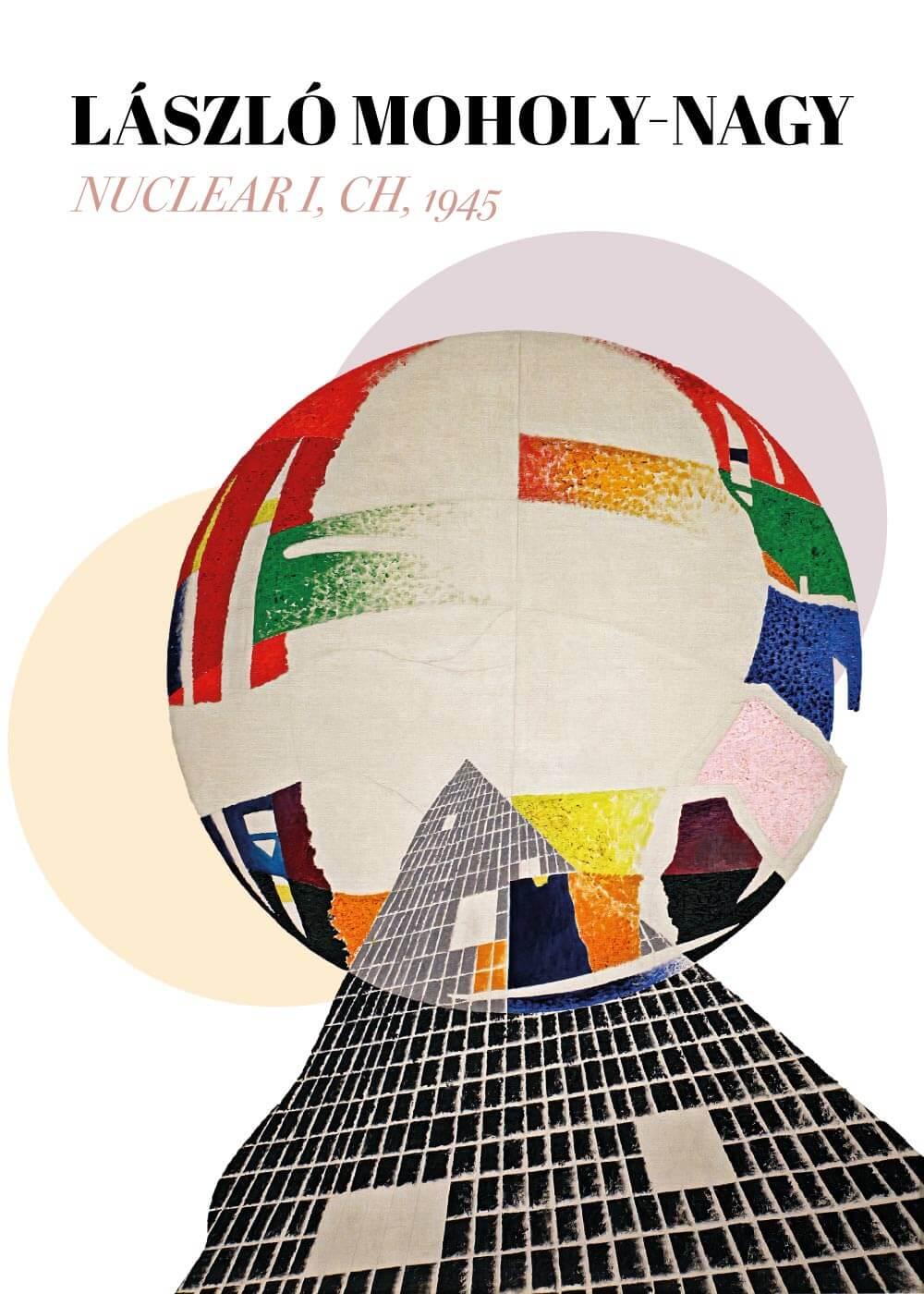 Billede af Nuclear I, CH - László Moholy-Nagy kunstplakat