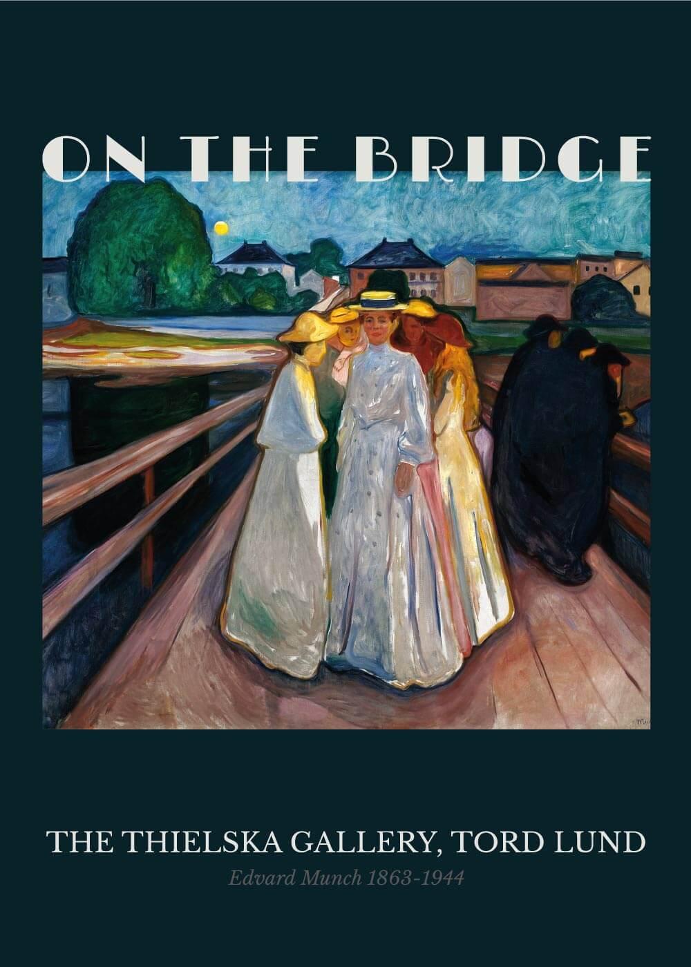 Billede af On the bridge - Edvard Munch