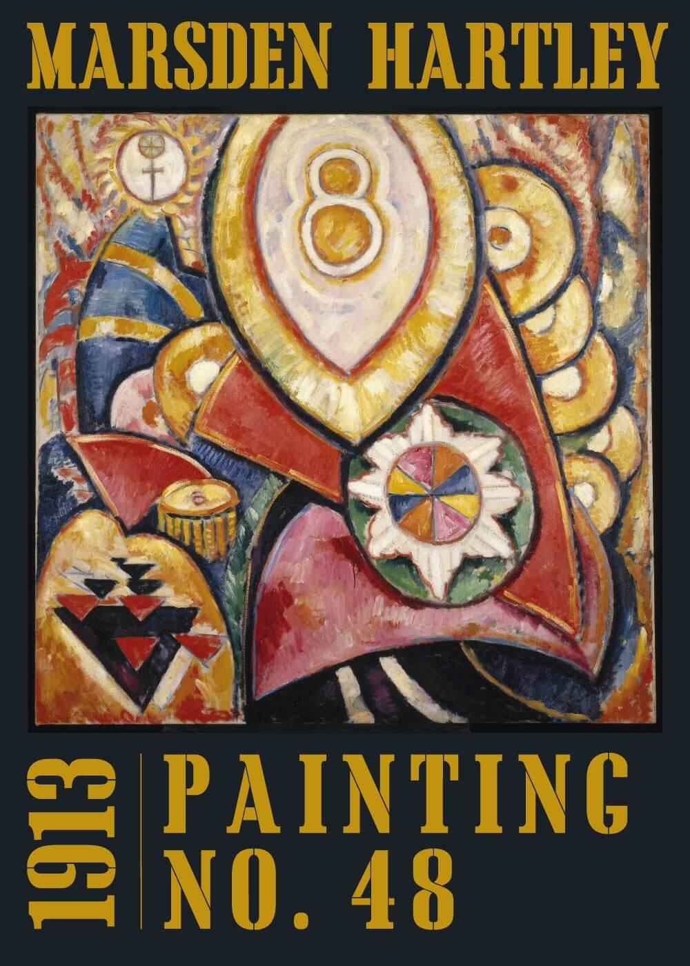 Billede af Painting no. 48 - Marsden Hartley