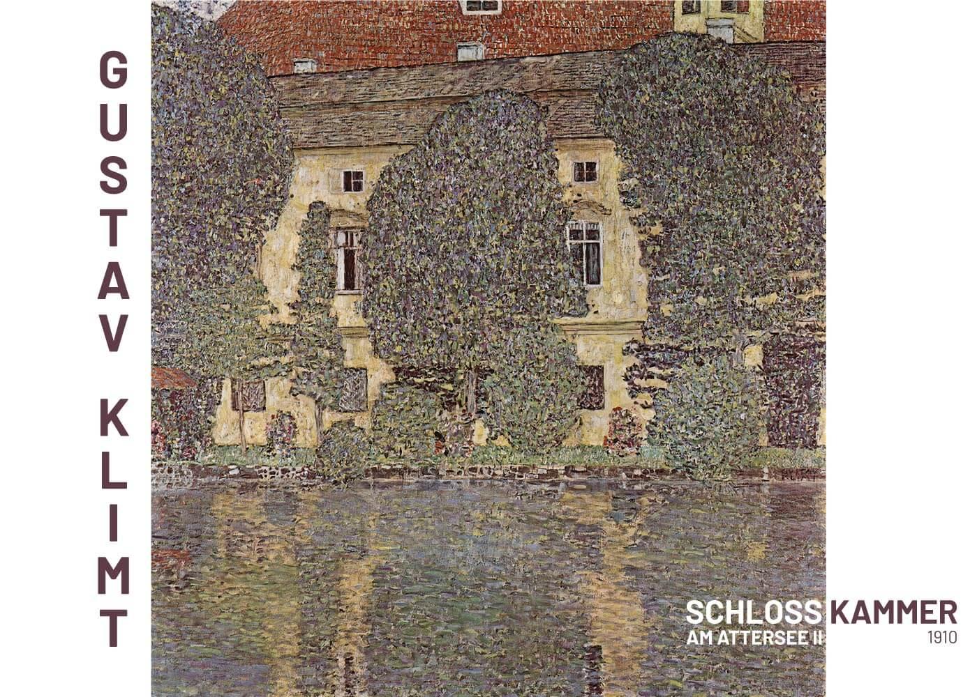 Billede af Schloss Kammer - Gustav Klimt