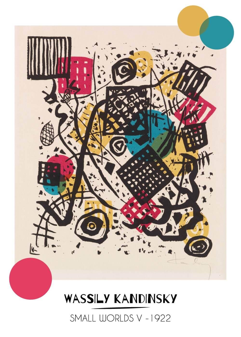 Billede af Small worlds V - Wassily Kandinsky