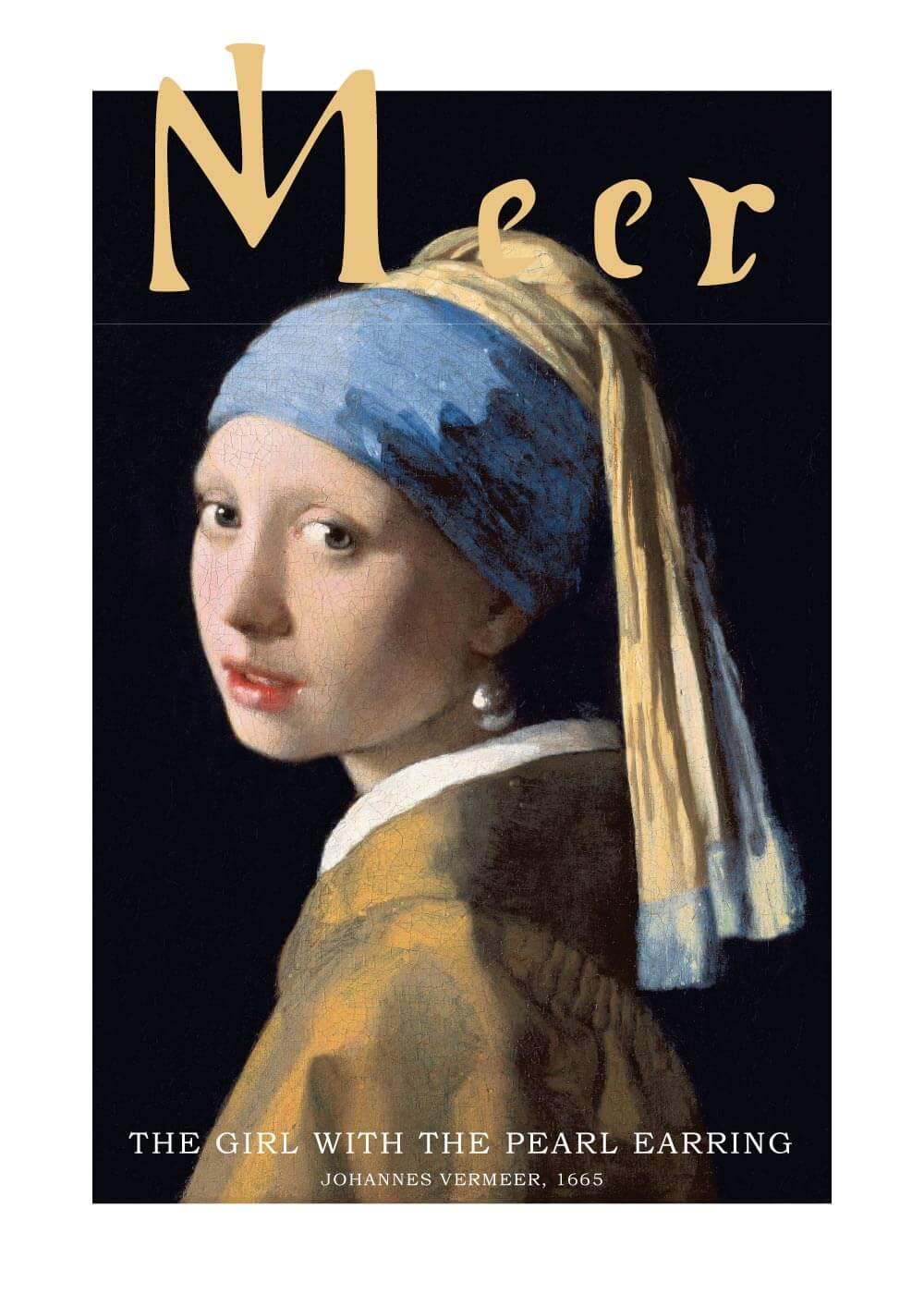 Billede af Girl with a Pearl Earring - Johannes Vermeer