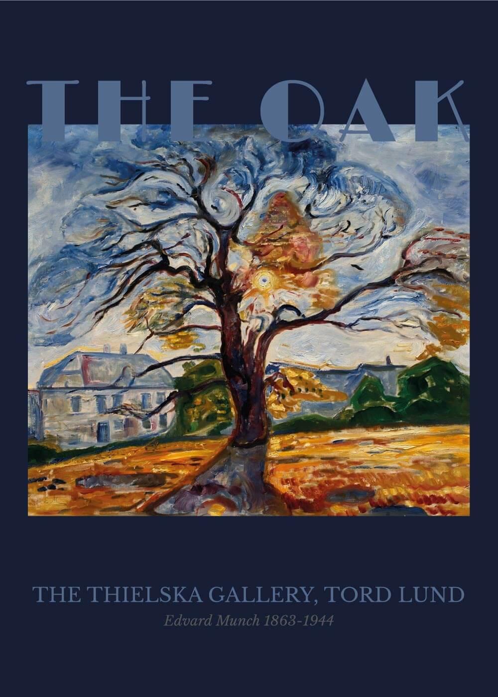 Billede af The Oak - Edvard Munch
