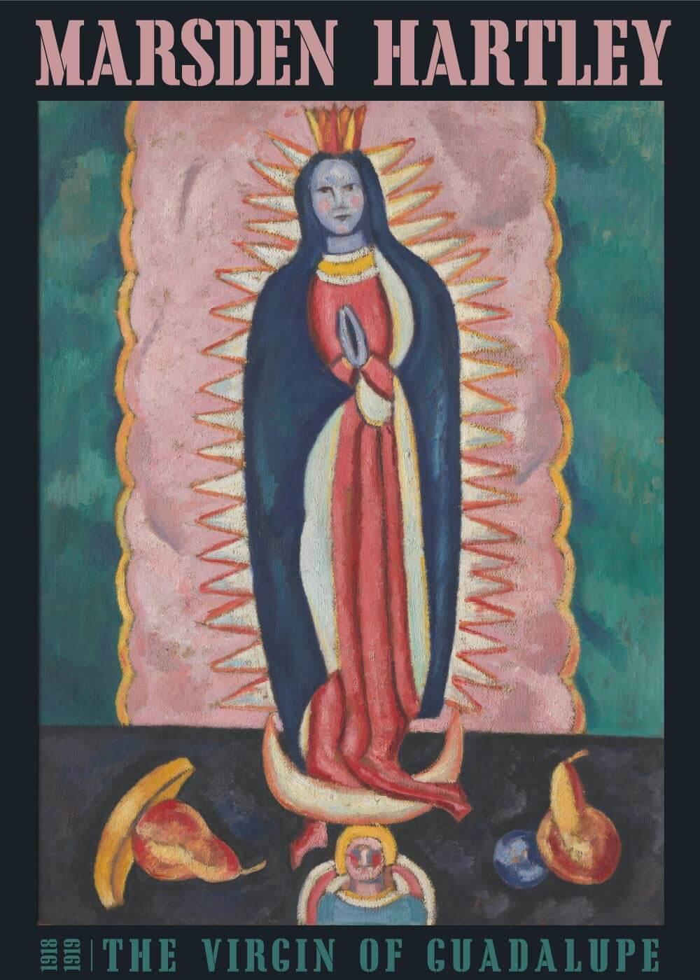 Billede af The virgin of guadalupe - Marsden Hartley