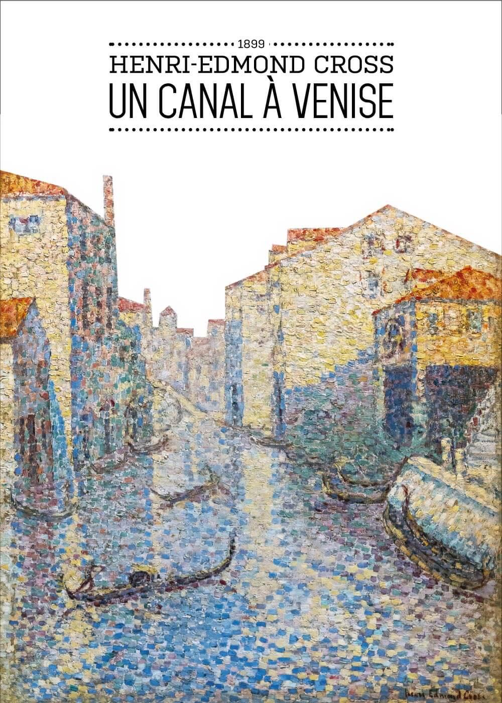Billede af Un canal á Vinise - Henri-Edmond Cross