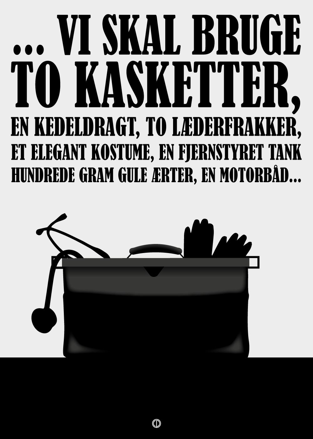 Billede af Vi skal bruge - Olsen Banden plakat