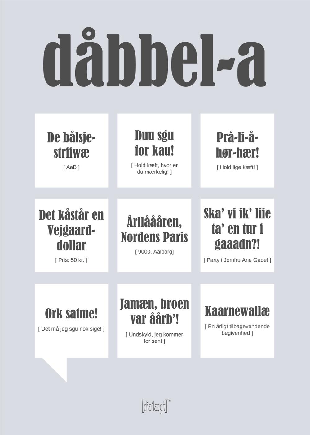 Billede af Aalborg plakat