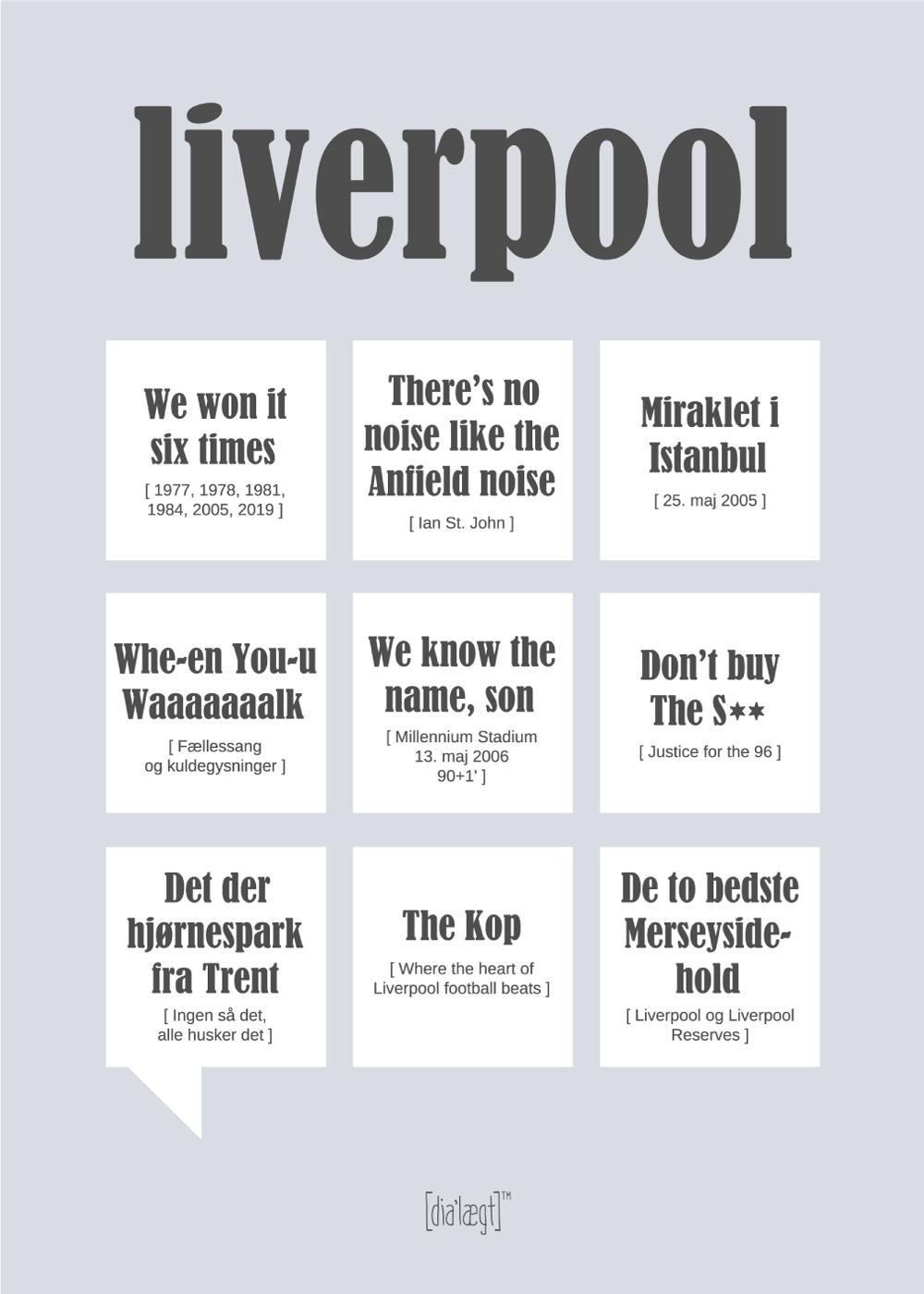 Billede af Liverpool plakat