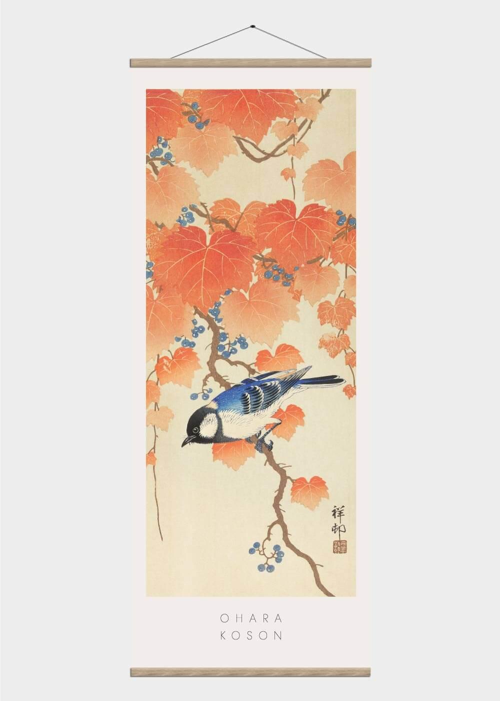 Billede af Paulownia tree - Japansk kunst plakat