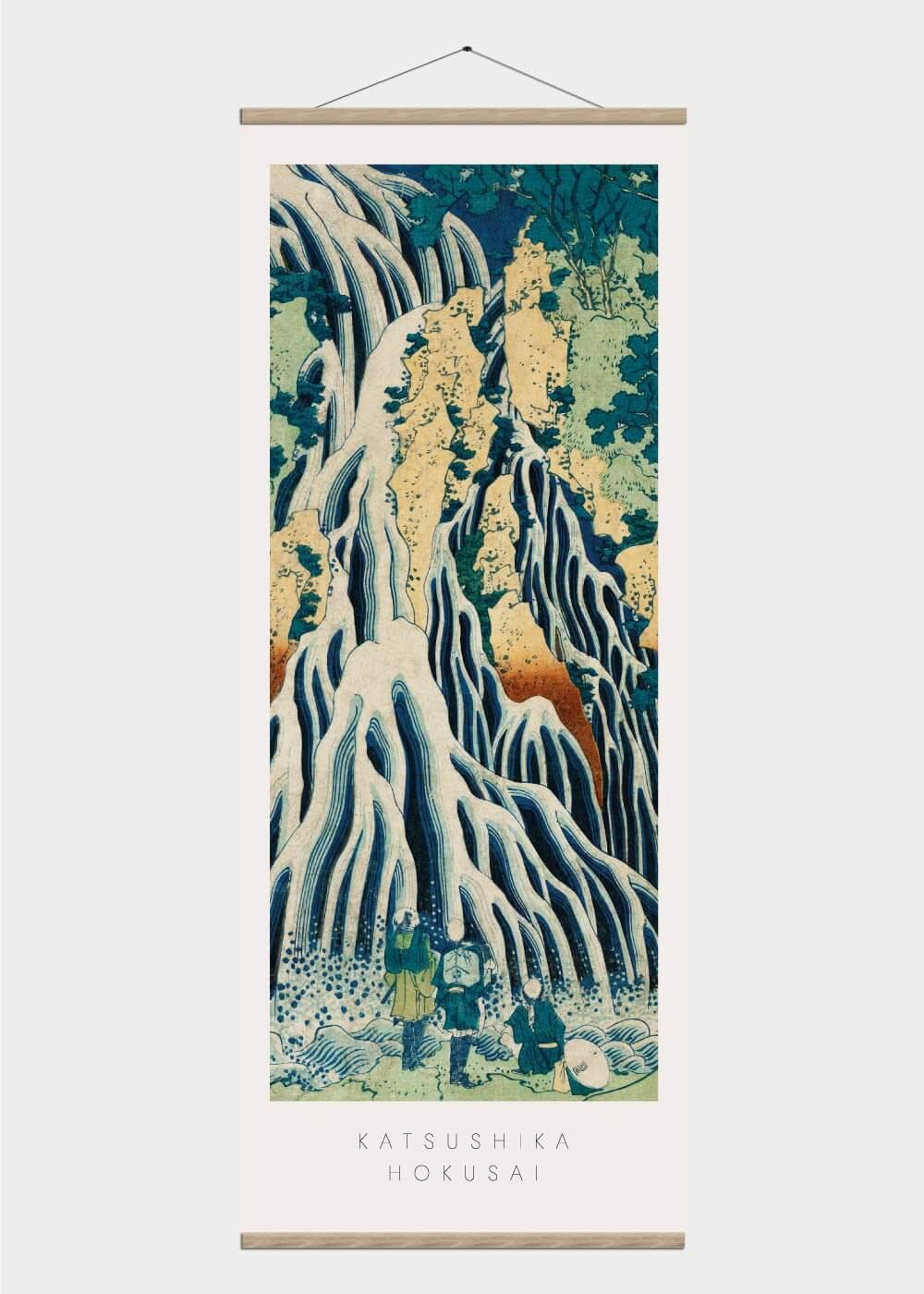 Billede af Mount Kurokami - Japansk kunst plakat